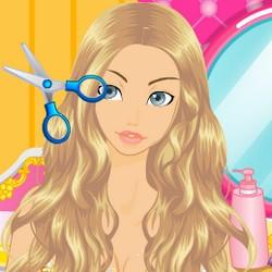 princess hair cutting games